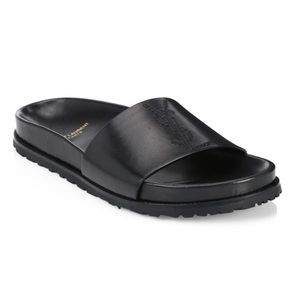 NWT Saint Laurent YSL Jimmy Leather Slides 35 5